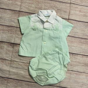 Nanette Vintage Baby Outfit Size 12 months